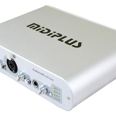 MIDIPLUS INTERFACE AUDIOLINK PLUS 4X4