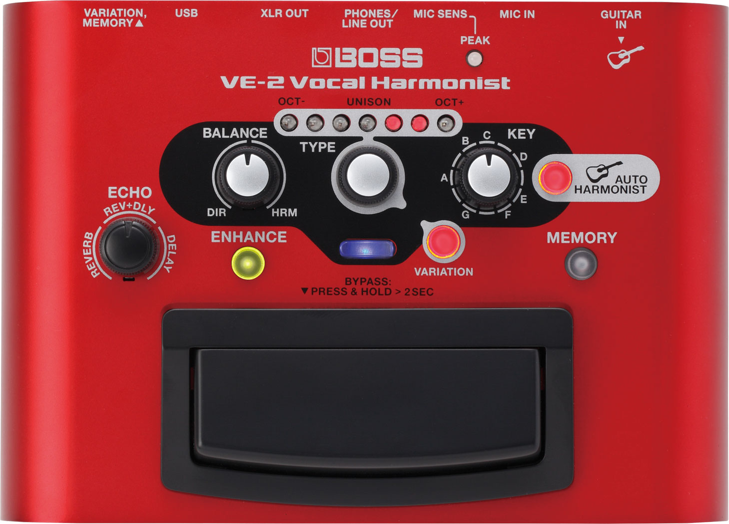 PEDAL BOSS VOCAL VE-2
